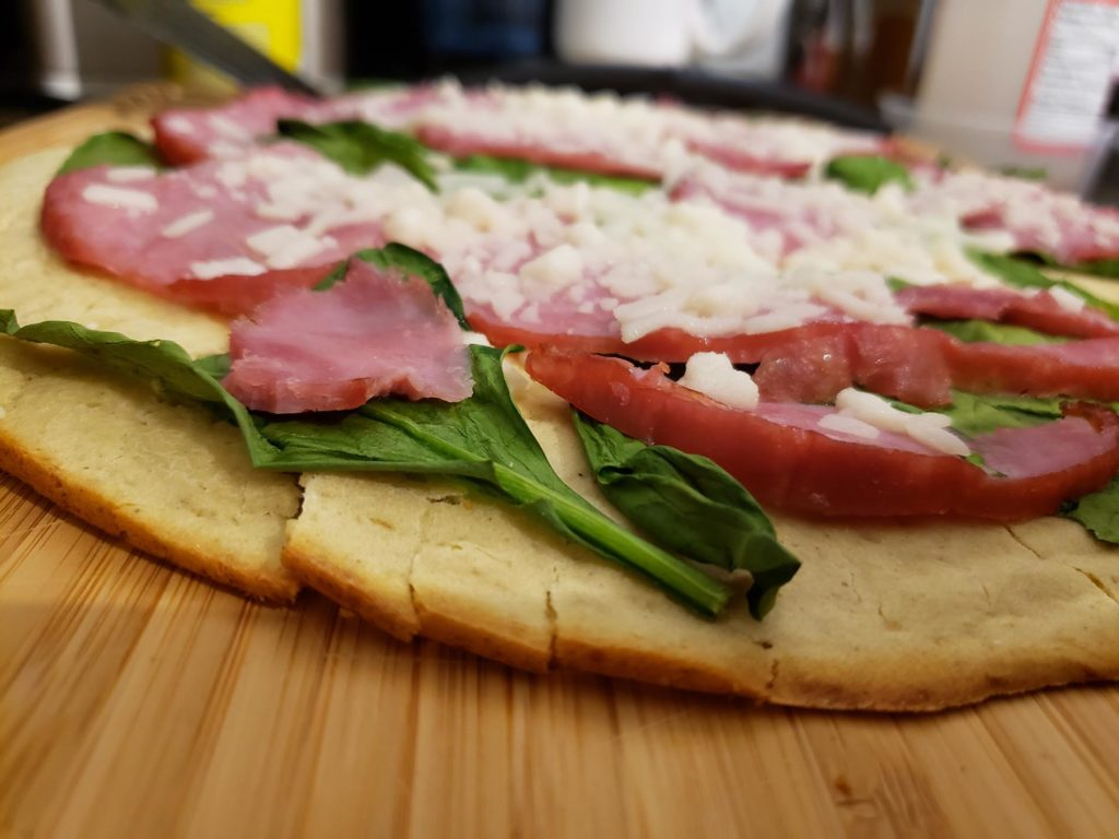 Gluten-free Dairy-free Egg-free Pizza
