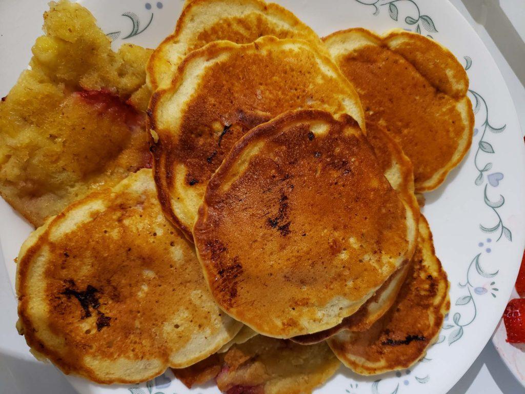 Strawberry Breakfast Pancake