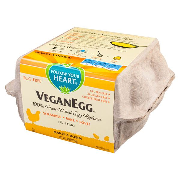 Quick Convenient Vegan Eggs
