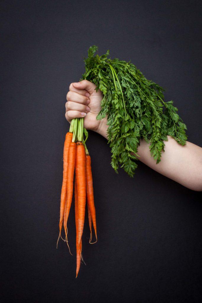 Carrot potatoes and tomato soup