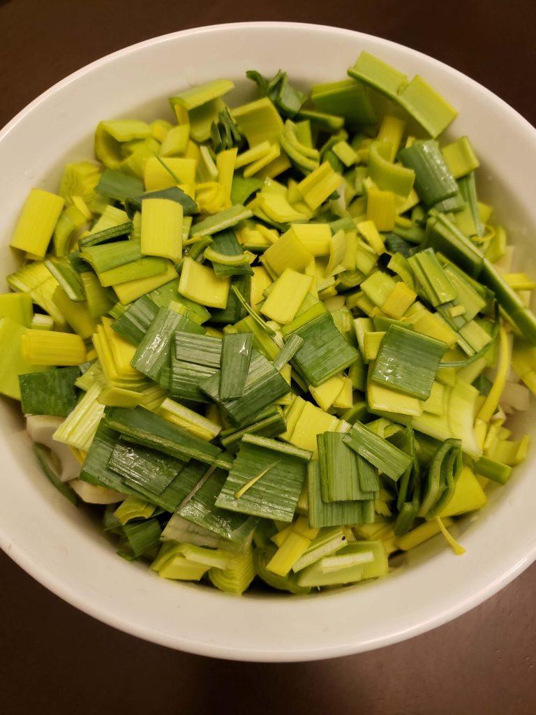 Creamy Nutritious Leek Soup