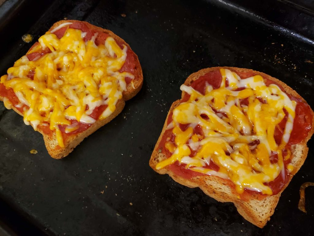 Cheese Pizza Toast