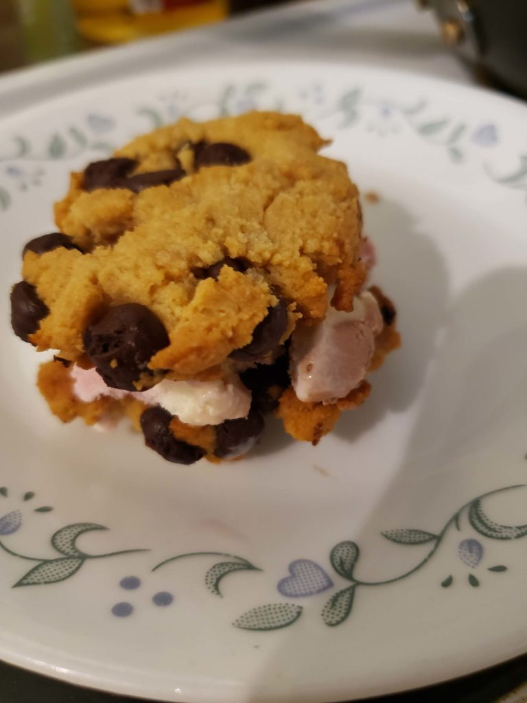 Soft Gooey Chocolate Chip Treat