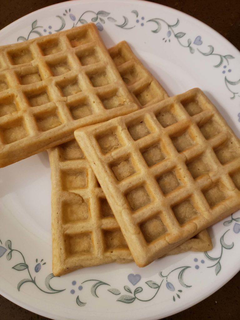 Crunchy Gluten-free Waffle