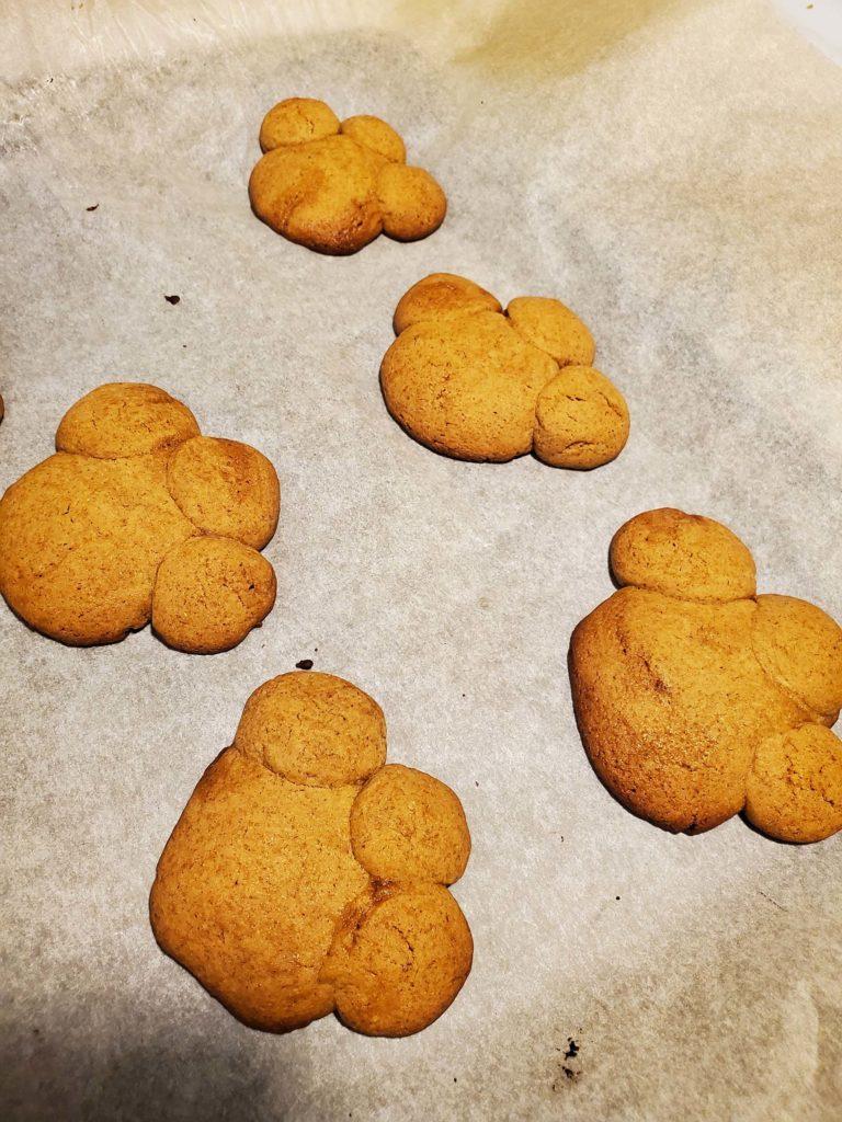 Cute Bear Paw Cookie
