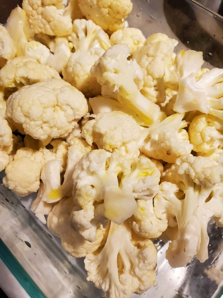 Roasted Cauliflower Snack