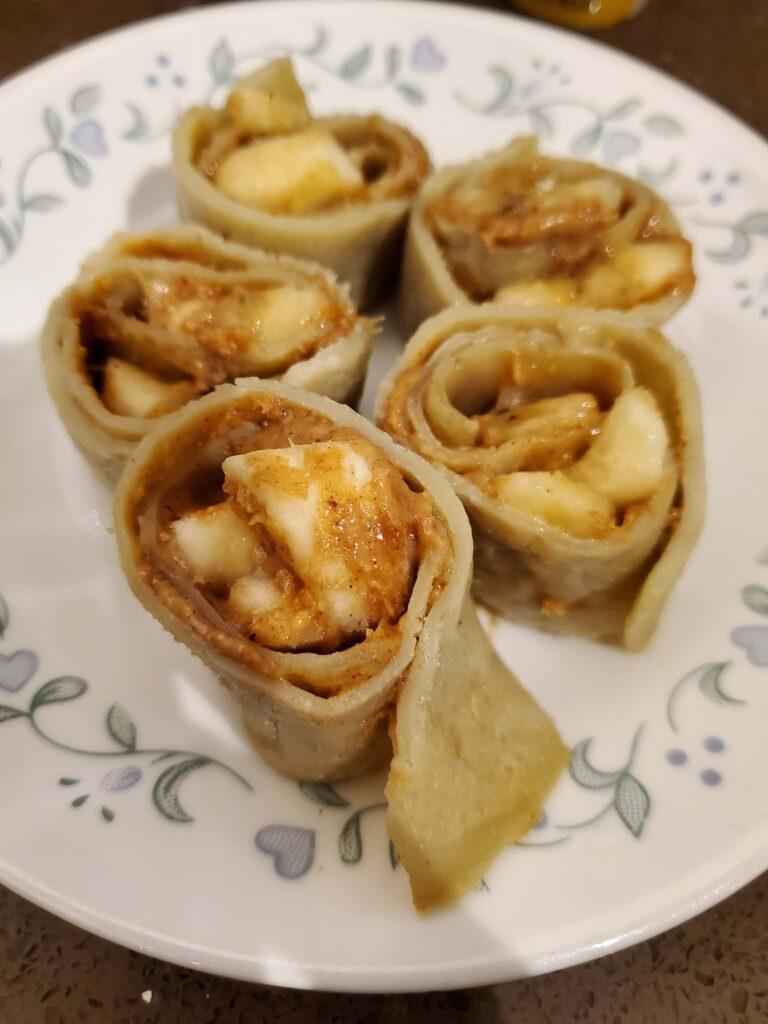 Sweet Wrap Pinwheel Lunch