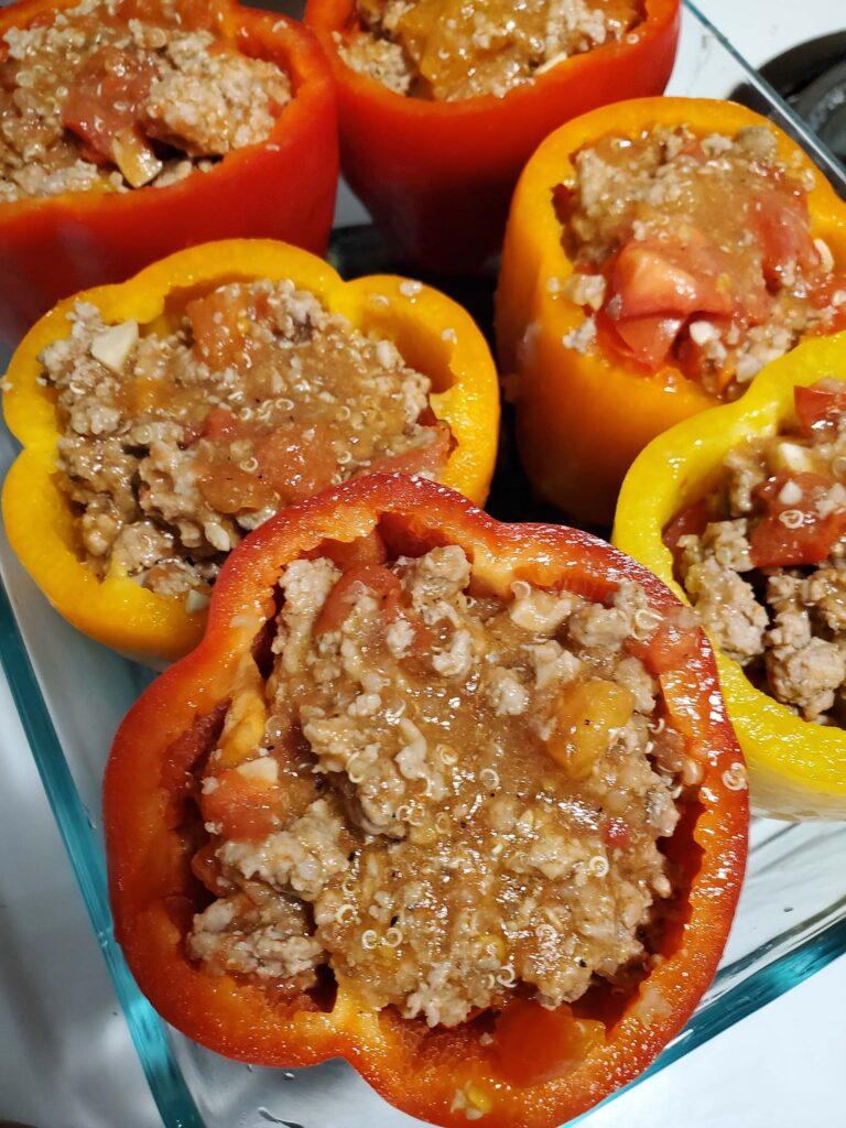 Flavorful Vegan Stuffed Peppers