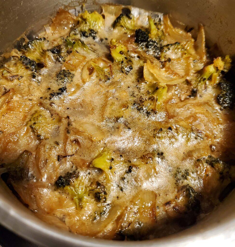 Vegan High Protein Broccoli Soup