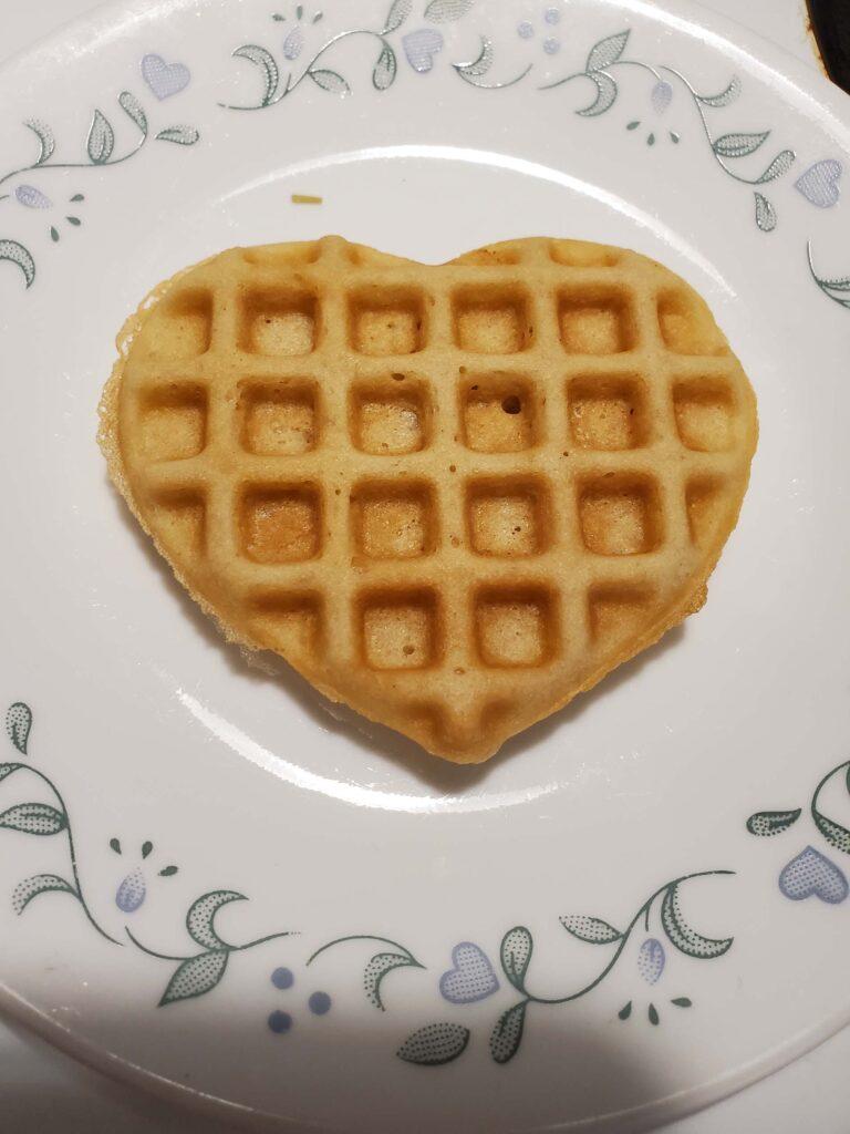 Easy Gluten-free Waffle Breakfast