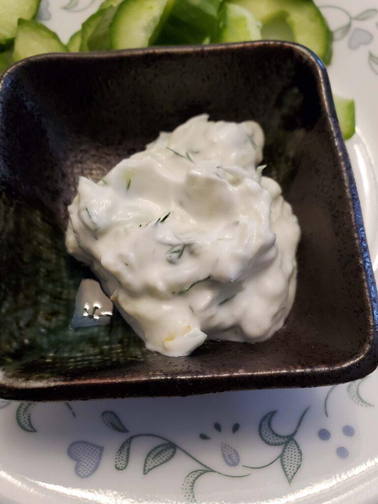 Delicious Dip For Cucumber