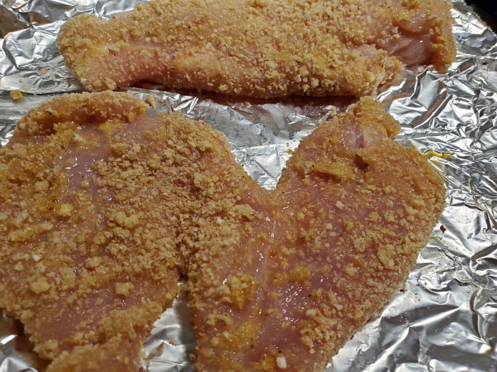 Cheesy Chicken Parmesan