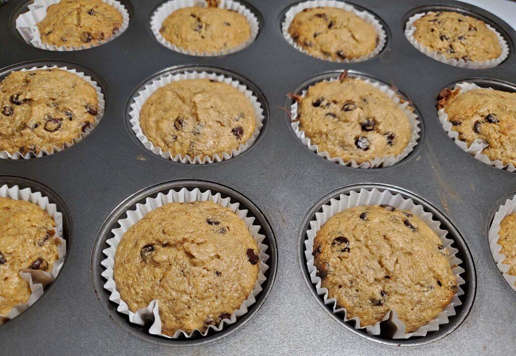 High Protein Chocolate Muffin